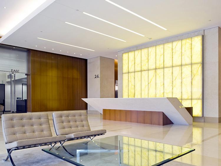 8383 Wilshire Lobby Remodel After