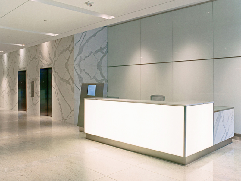 9601 Wilshire Lobby Remodel After