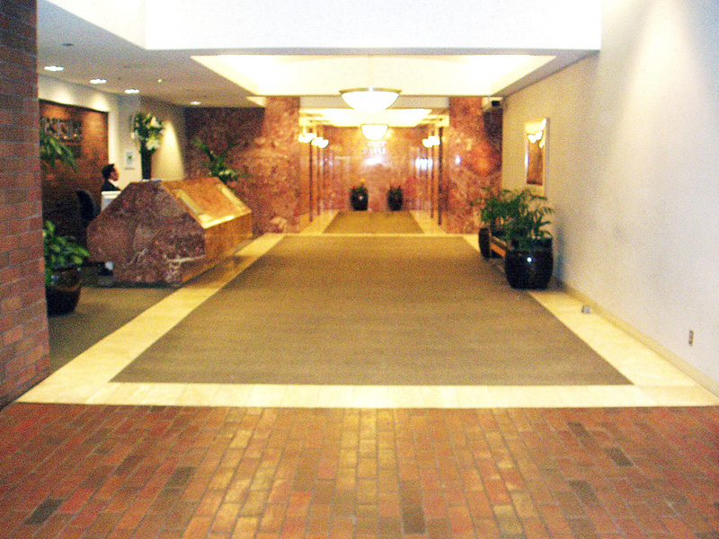 Westside Towers Lobby Remodel Before