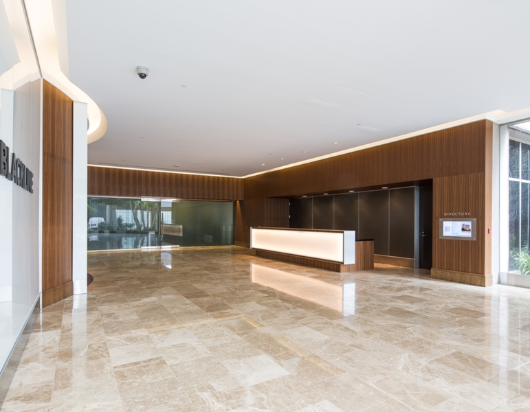 Warner Corporate Center Lobby Remodel After